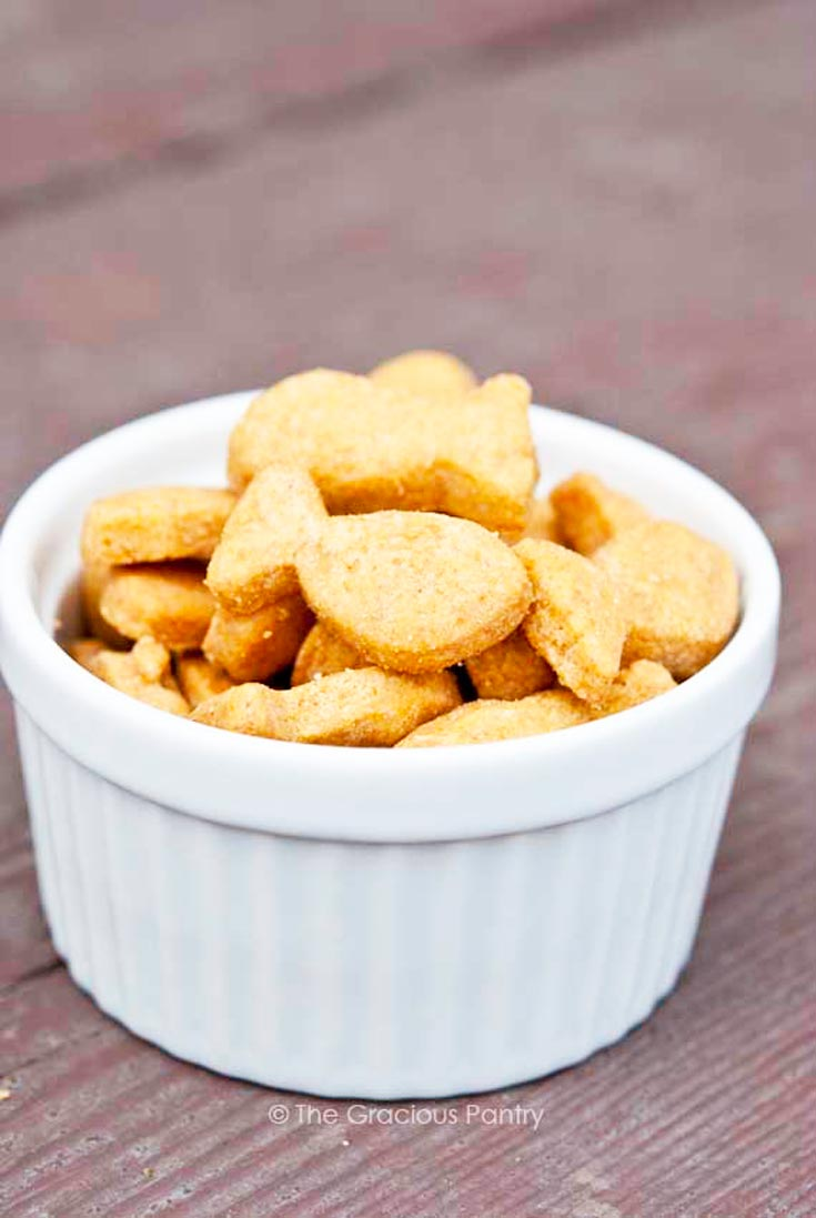 Clean Eating Goldfish Crackers Recipe