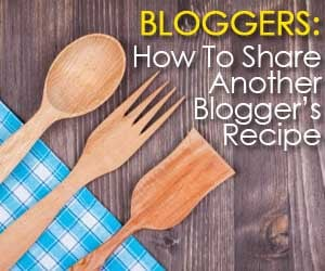How To Share A Recipe Online