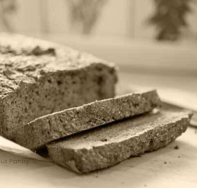 Clean Eating Grain Free Bread