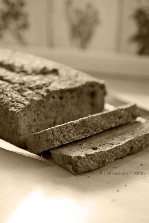 Clean Eating Grain Free Bread