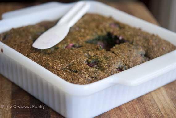Clean Eating Grain Free Raspberry Cake