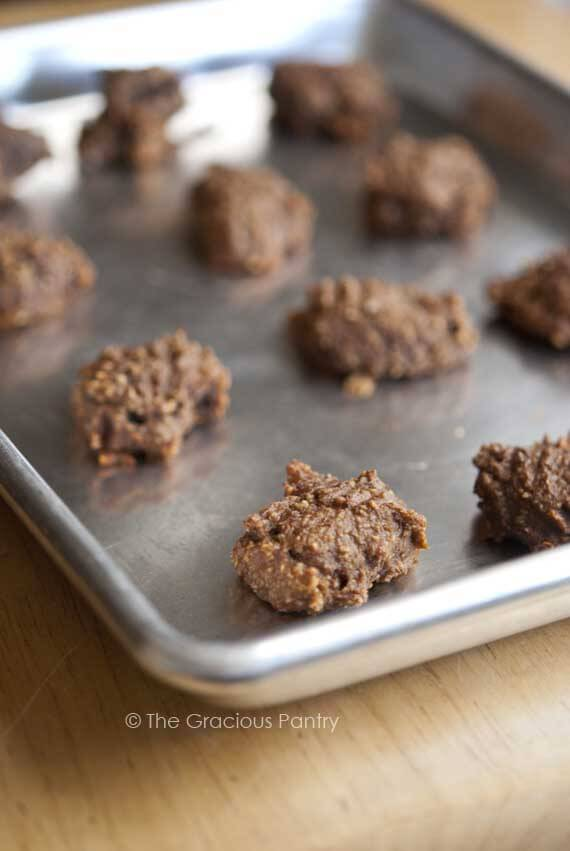 A cookie sheet filled with these Clean Eating Grain Free Spice Cookies, straight from the oven and ready to eat.