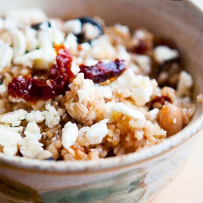 Greek Rice Bowl Recipe
