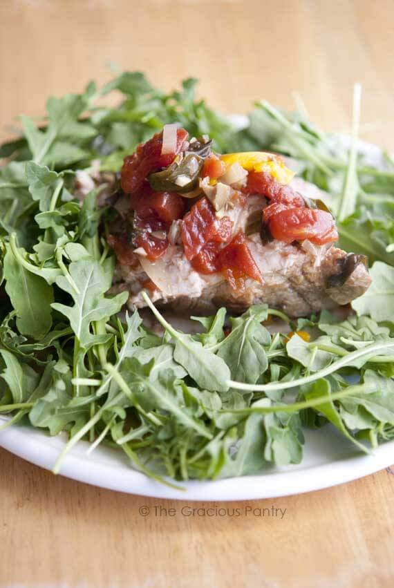Clean Eating Pork Provencal