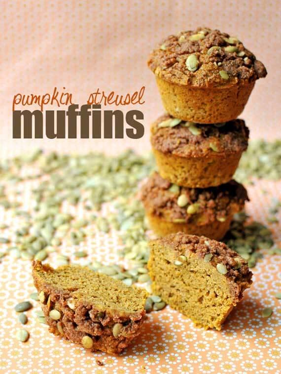 Clean Eating Gluten-Free Pumpkin Streusel Muffin Recipe