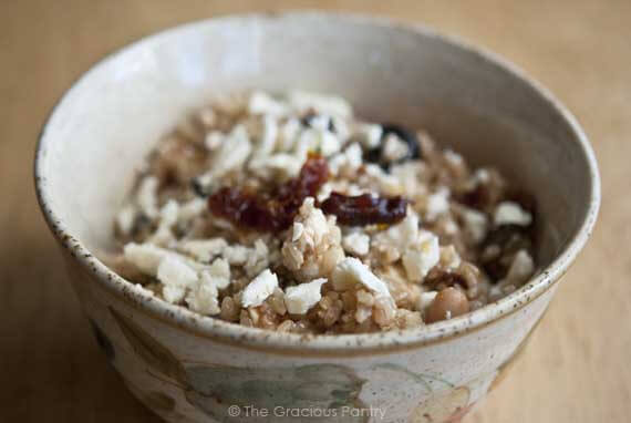 Tuscan White Bean And Brown Rice Bowl Recipe The
