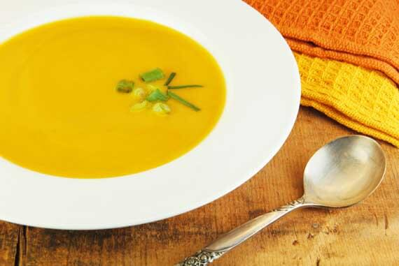 Ina Garten Butternut Squash clean eating spiced butternut squash soup recipe