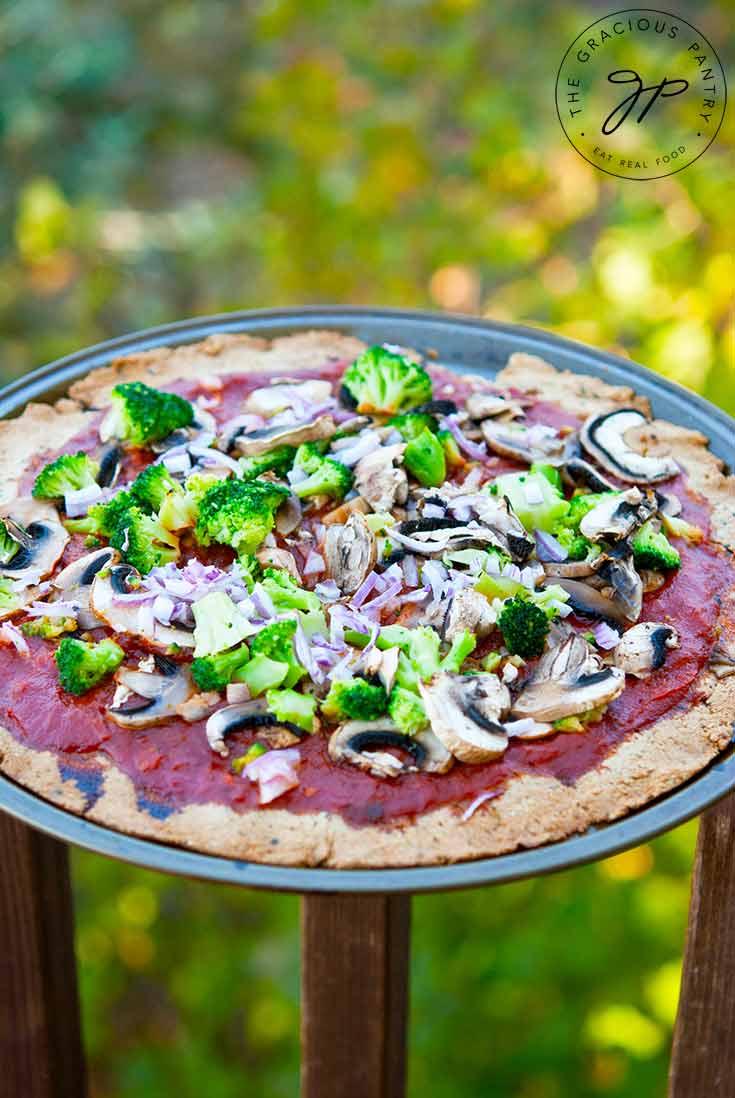 Thin Crust Pizza Dough Recipe (Gluten Free)