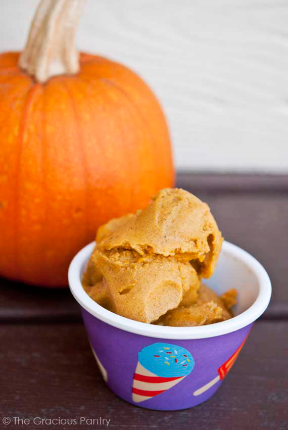 Clean Eating Pumpkin Ice Cream Ready To Serve