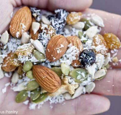 Clean Eating Grain Free Trail Mix