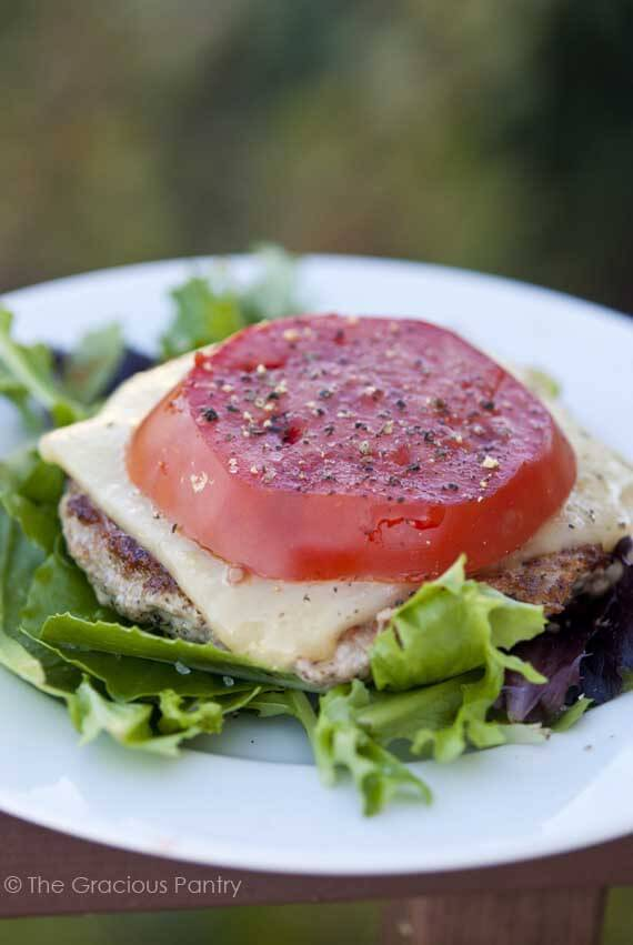 Simple Meals: Low Carb Burgers
