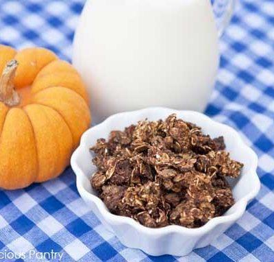Clean Eating Pumpkin Granola