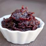 Clean Eating Slow Cooker Cranberry Sauce