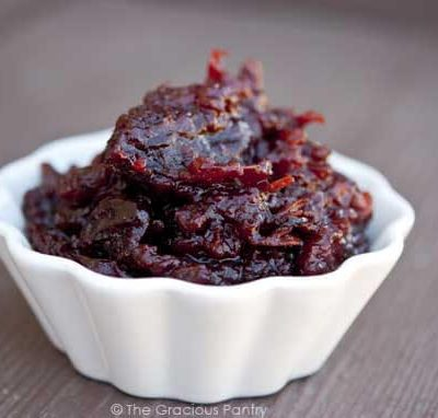 Clean Eating Slow Cooker Cranberry Sauce Recipe