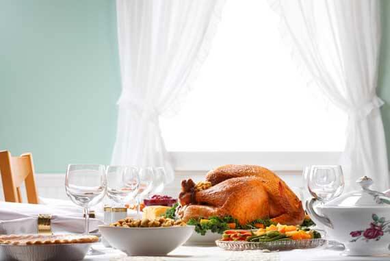 Clean Eating Savory Thyme and Garlic Roast Turkey