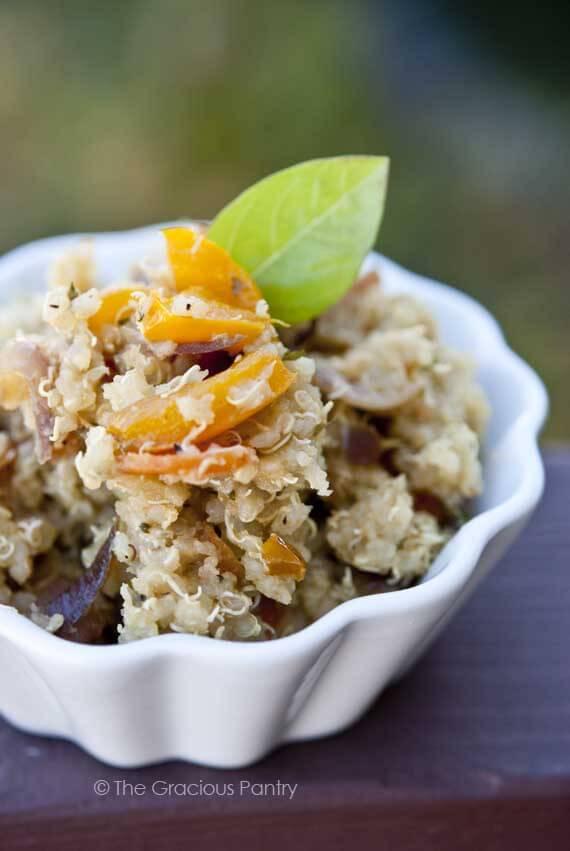 Clean Eating Vegetable Quinoa