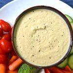 Clean Eating Bean Free Hummus