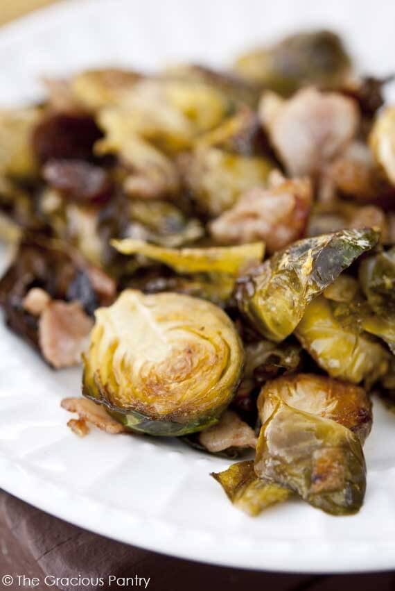 Clean Eating Brussels Sprouts With Bacon