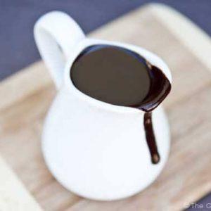 Clean Eating Coconut Fudge Sauce