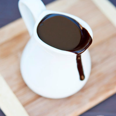 Clean Eating Coconut Fudge Sauce Recipe