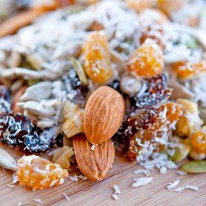 Clean Eating Grain Free Trail Mix Recipe