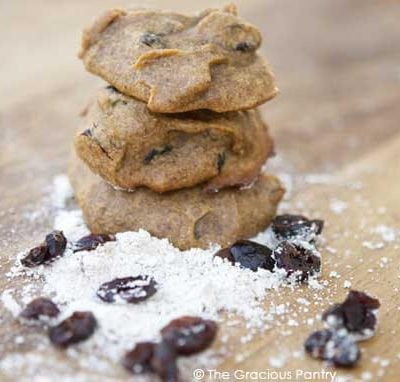 Clean Eating Pumpkin Almond Butter Cookies