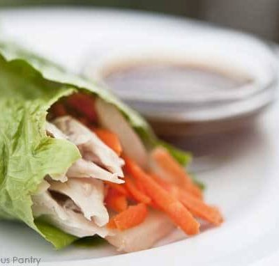 Clean Eating Asian Style Lettuce Wraps