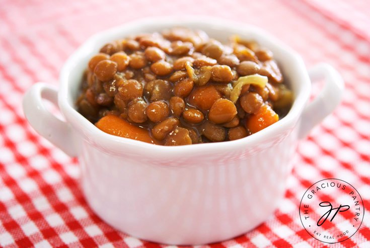 Clean Eating Slow Cooker Lentil Soup Recipe For Dinner