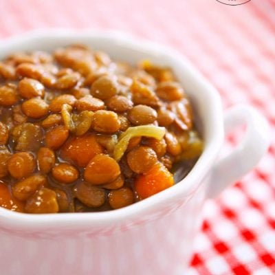 Slow Cooker Lentil Soup Recipe