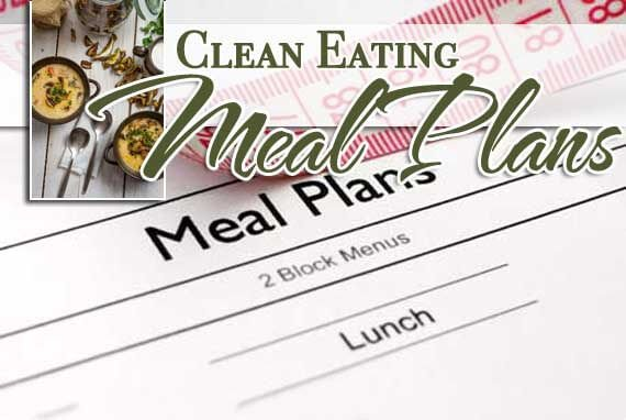 Clean Eating Meal Plans For 2014