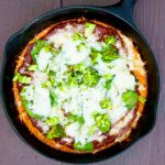 Clean Eating Baked Skillet Frittata Pizza Recipe