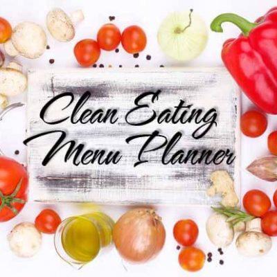 Clean Eating Weekly Menu Planner