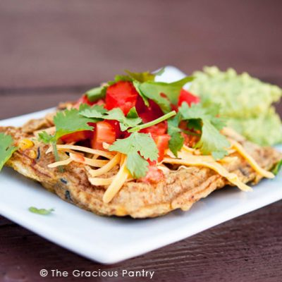 Mexican-Style Waffle Omelets Recipe