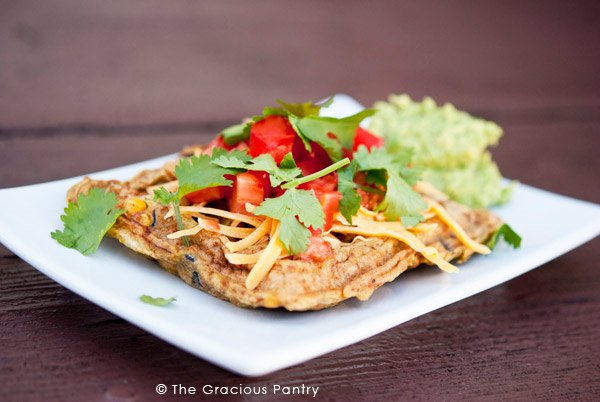 Clean Eating Mexican-Style Waffle Omelets Recipe