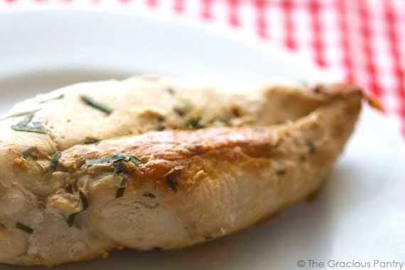Clean Eating Skillet Style Tarragon Chicken