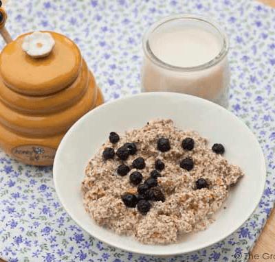 Clean Eating Almond Chia Porridge