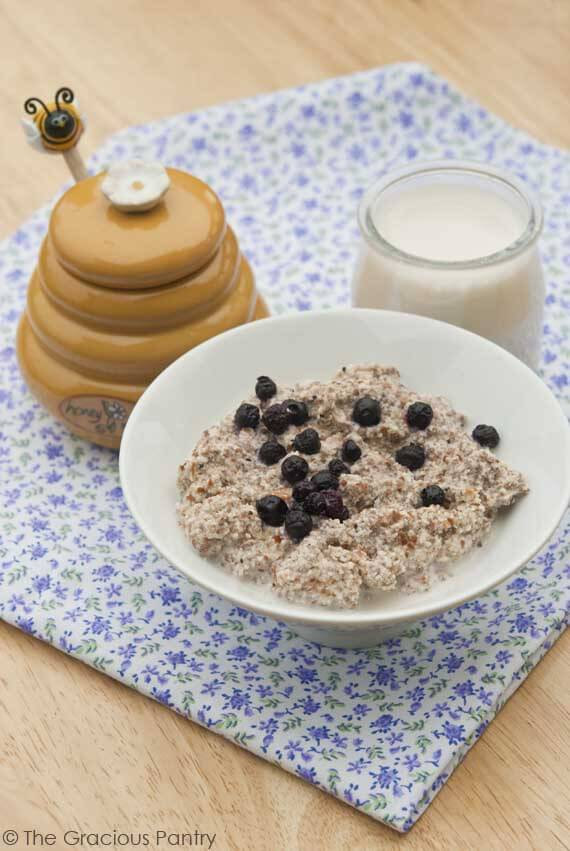 Clean Eating Almond Chia Porridge