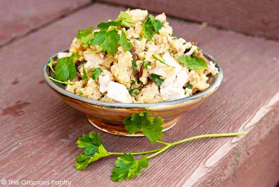 Clean Eating Chicken And Mushroom Quinoa Recipe