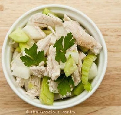 Clean Eating Exceptionally Filling Chicken & Vegetable Salad