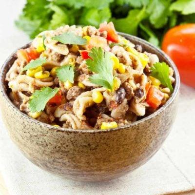 Clean Eating Slow Cooker Mexican Style Chili Mac Recipe
