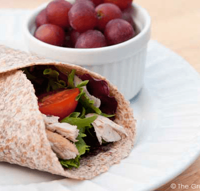 Clean Eating Turkey Wraps