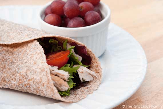 Clean Eating Turkey Wraps Recipe