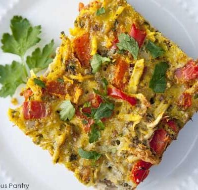 Clean Eating Spring Time Breakfast Casserole