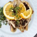Clean Eating Middle-Eastern Style Slow Cooker Cornish Game Hens