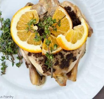 Clean Eating Middle-Eastern Style Slow Cooker Cornish Game Hens Recipe