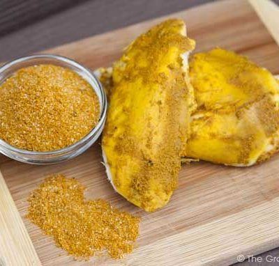 Clean Eating Slow Cooker Turmeric Chicken Recipe