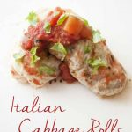 Clean Eating Italian Style Cabbage Rolls