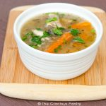 Clean Eating Leftover Rotisserie Chicken Soup Recipe