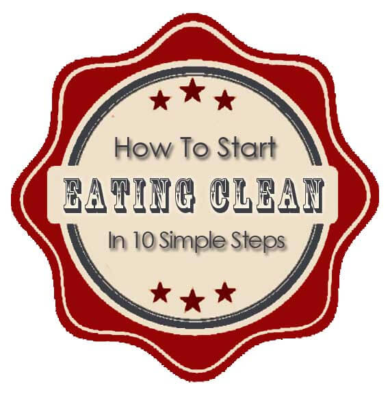 How To Start Eating Clean Logo