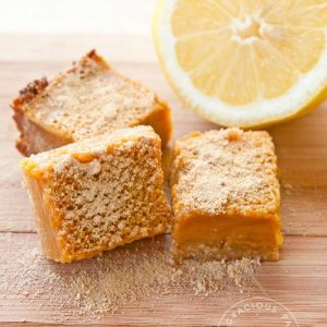 Clean Eating Lemon Bars Recipe